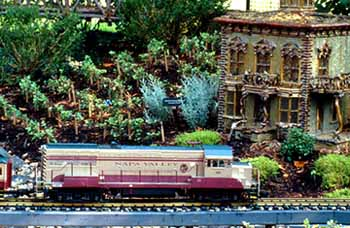 Model Train Railway at the Chicago Botanic Gardens